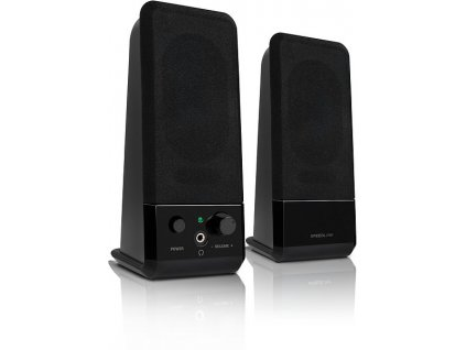 SPEED LINK reproduktory SL-8004-BK EVENT Stereo Speakers, black