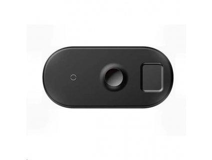 Baseus Smart 3v1 bezdrátová nabíječka pro telefon, Apple Watch, AirPods 18W černá