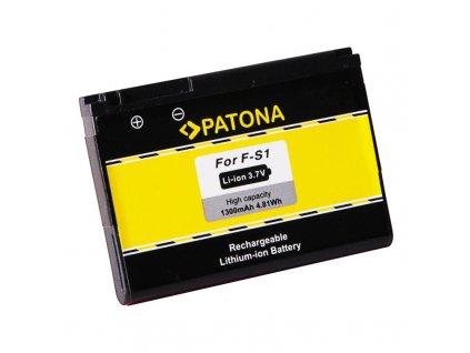 PATONA baterie pro mobilní telefon Blackberry F-S1 1300mAh 3,7V Li-Ion