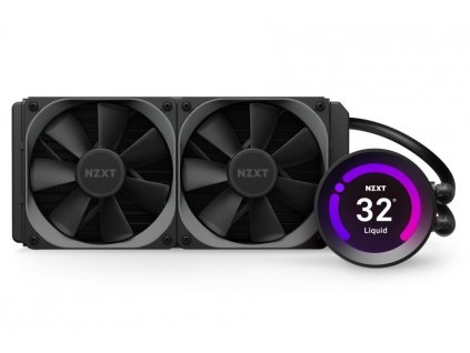 "NZXT vodní chladič Kraken Z53 / 2x 120mm fan / LGA 2066/2011(-3)/1366/1156/1155/1151/1150/AM4/ 2,36"" displej / 6 let"
