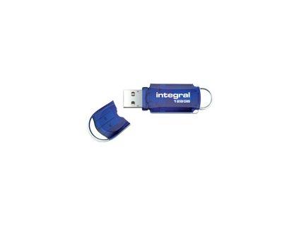 INTEGRAL INFD128GBCOU INTEGRAL USB flash disk COURIER 2.0 128GB Modrá