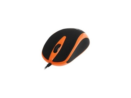MEDIATECH MT1091O Media-Tech PLANO optická myš, 800 cpi, USB, oranžovo-černá