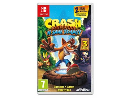 NS - Crash Bandicoot N. Sane Trilogy