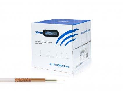 Kabel koaxial AB RG6CU Profi 300m roll