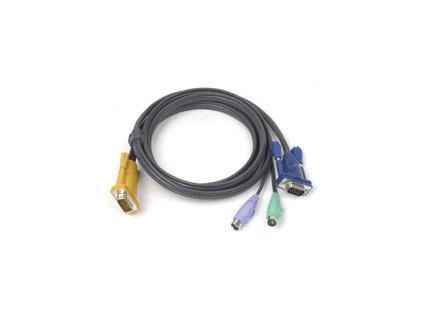 ATEN integrovaný kabel 2L-5206P pro KVM PS/2 6 metrů