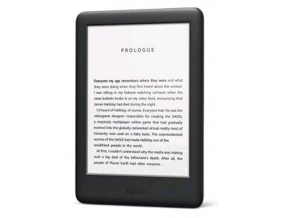 E-book AMAZON KINDLE TOUCH 2020, 6'', 8GB E-ink podsvícený displej, WIFi, černý, SPONZOROVANÁ VERZE