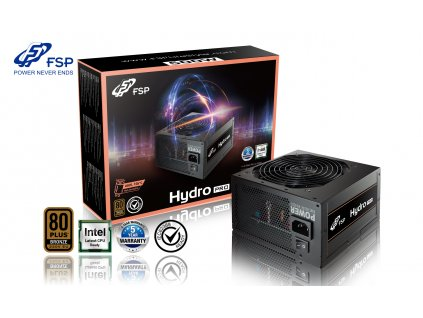 FSP/Fortron HYDRO PRO 500, 80PLUS BRONZE 230V EU, 500W