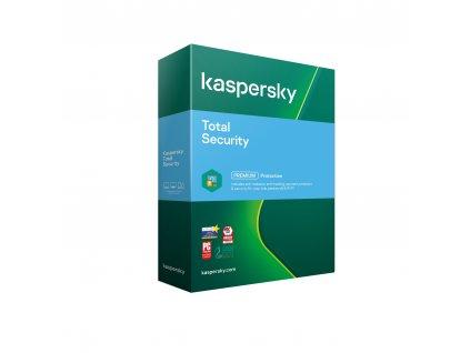 Kaspersky Total Security 3x 1 rok Nová 2021 BOX