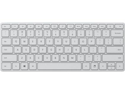 Microsoft Bluetooth Designer Compact Keyboard, Glacier, CZ&SK