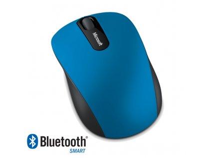 Microsoft Bluetooth 4.0 Mobile Mouse 3600, modrá