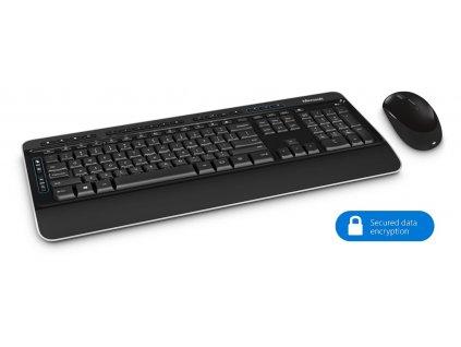 Microsoft Wireless Desktop 3050 w AES, CZ&SK