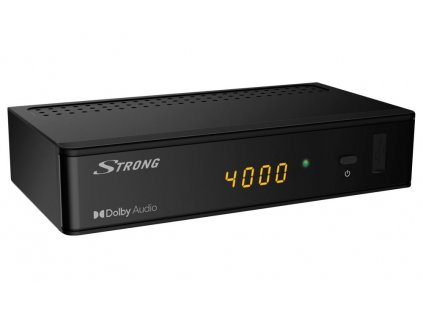 STRONG DVB-S/S2 set-top-box SRT 7009/ s displejem/ Full HD/ EPG/ USB/ HDMI/ LAN/ SCART/ SAT IN/ SPDIF/ černý