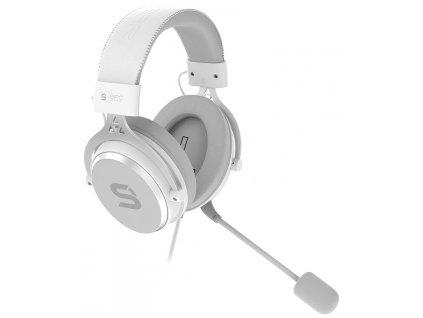 SPC Gear Viro Plus USB OWH Gaming Headset / bílý