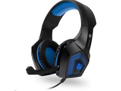 CONNECT IT BATTLE RNBW Ed. 2 herní sluchátka s mikrofonem, modrá