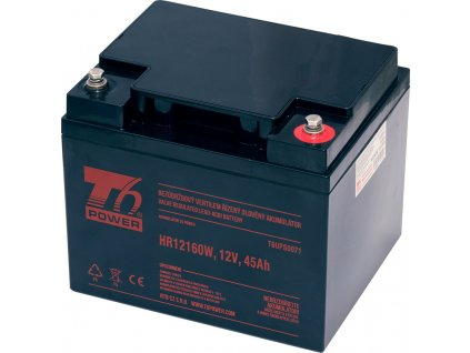 Akumulátor T6 Power HR12160W, 12V, 45Ah, High Rate životnost 10-12 let