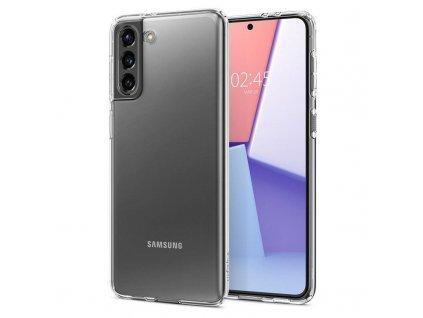 Ochranný kryt Spigen Liquid Crystal pro Samsung Galaxy S21 transparentní