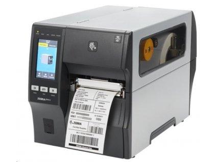 """Zebra ZT411,průmyslová 4"""" tiskárna,(203 dpi),disp. (colour),RTC,EPL,ZPL,ZPLII,USB,RS232,BT (4.1),Ethernet"""