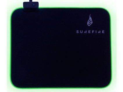 SUREFIRE Silent Flight RGB-320 Gaming podložka
