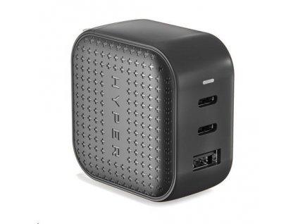 HyperJuice 66W GaN – USB nabíjecí adaptér, černý