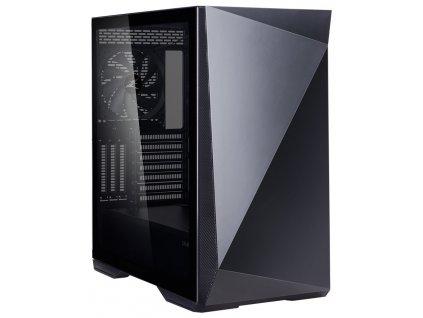 Zalman skříň Z9 Iceberg / Middle tower / ATX / 2x140mm fan / temperované sklo / černá