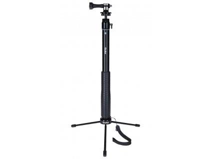 Rollei Actioncam Selfie stick/ pro akční kamery/ Černý
