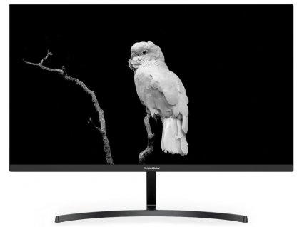 """THOMSON 27"""" LED M27FC12401/ IPS panel/ 1920x1080 (FHD)/ 1000:1/ 14ms/ 250 cd/m/ HDMI/ VGA/ černý"""