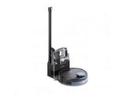 Ecovacs O930 Pro- Robotický vysavač s technologií OZMO, Smart Navi, ovládání pomocí smartphonu + ruční vysasvač