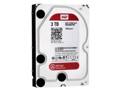 WD RED PLUS NAS WD30EFZX 3TB SATA/600 128MB cache 175 MB/s CMR