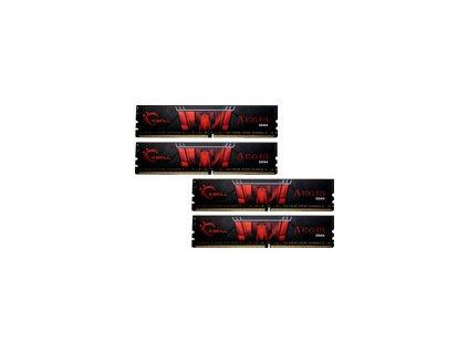 G.SKILL F4-3200C16Q-32GIS G.Skill Aegis DDR4 32GB (4x8GB) 3200MHz CL16 1.35V XMP 2.0