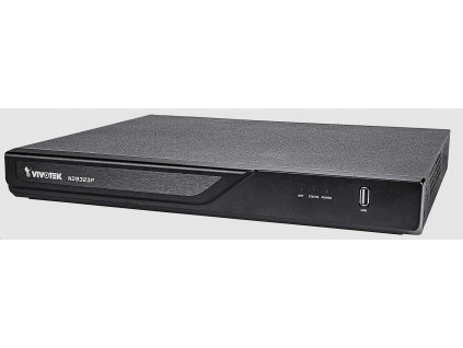 Vivotek NVR ND9323P, 8 kanálů, 8xPoE(max.120W), 2xHDD, H.265, 2x USB, DI/DO, 1xHDMI, Cloud