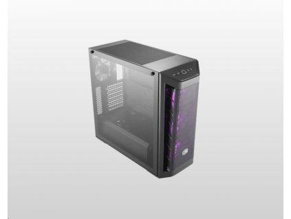 Cooler Master case MasterBox MB511 RGB, ATX, Mid Tower, černá, bez zdroje
