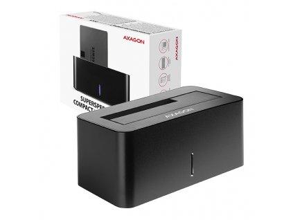 AXAGON ADSA-SN, USB 3.2 Gen1 - SATA 6G, 2.5''/3.5'' HDD/SSD dokovací stanice