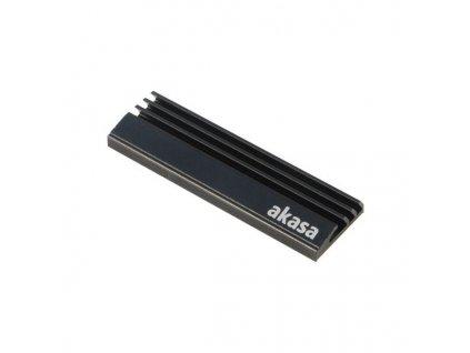AKASA přídavný chladič na M.2 SSD / A-M2HS01-BK / pasivní