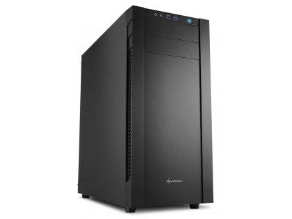 Sharkoon skříň S25-V / Middle Tower / 2x USB3.0 / černá