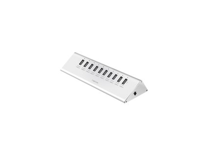 LOGILINK UA0226 LOGILINK - USB 2.0 High Speed Hub 10-Port + 1x Fast Charging Port