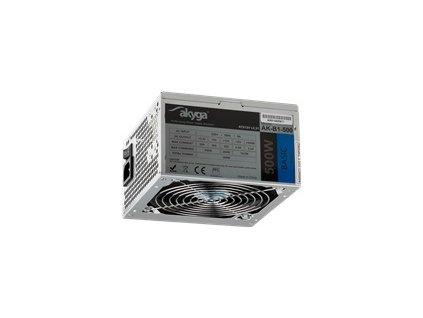 AKY AK-B1-500 Akyga Zdroj Basic ATX 500W AK-B1-500 Fan12cm P4 3xSATA PCI-E