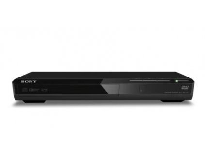SONY DVP-SR170B - Tenký a kompaktní DVD přehrávač, BLACK