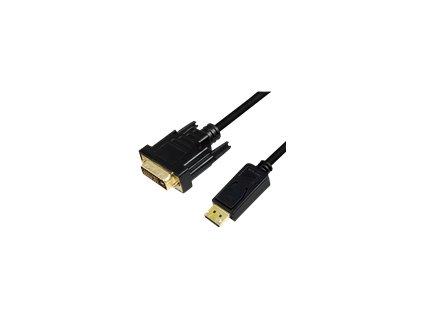 LOGILINK CV0133 LOGILINK - DisplayPort to DVI cable, black, 5m
