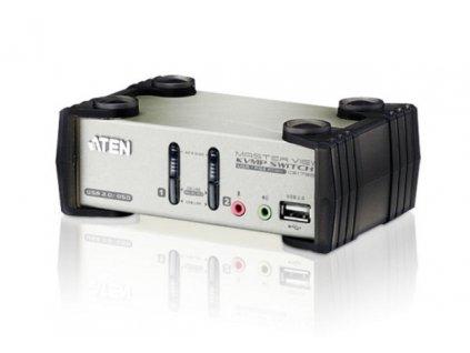ATEN CS1732AC-AT 2 PORT KVM & USB FOR PS2 W/1.2