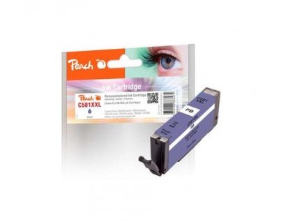 PEACH kompatibilní cartridge Canon CLI-581 XXL, blue, 12 ml