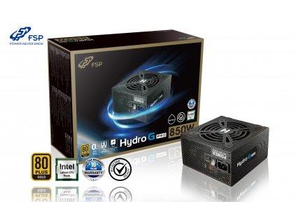 FSP/Fortron HYDRO G 850 PRO, 80PLUS GOLD, 850W, modular