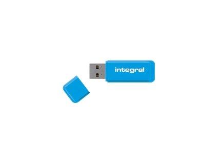 INTEGRAL INFD16GBNEONB Integral USB Flash Drive Neon 16GB USB 2.0 - Blue