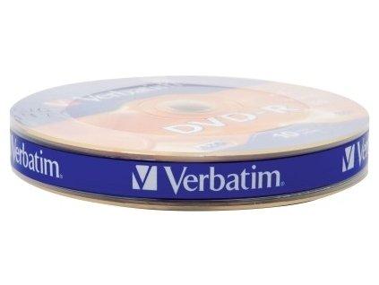 VERBATIM DVD-R 4,7 GB 16x 10-spindl RETAIL