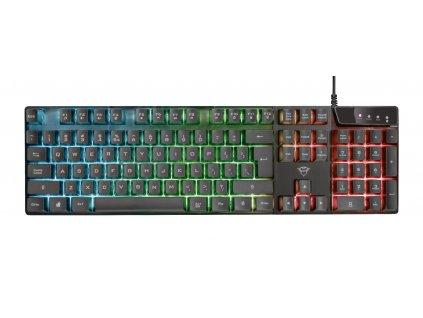 TRUST GXT 835 Azor podsvícená klávesnice