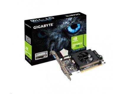 GIGABYTE VGA NVIDIA GV-N710D3-2GL 2.0, GT 710, 2GB DDR3, 1xHDMI, 1xDVI, 1xVGA