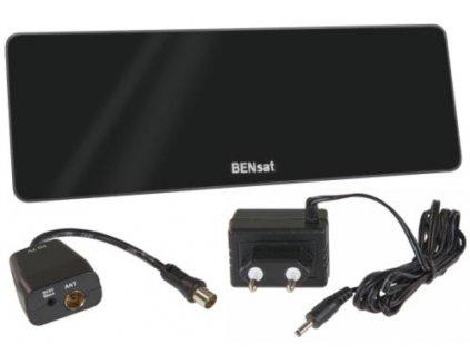 Emos anténa EM-101N - pokojová anténa pro DVB-T/T2, aktivní, LTE filtr, <25 km