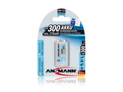 Ansmann maxE 9V 270mAh 1ks 10603