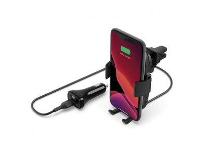 Belkin BOOST CHARGE 10W držák do auta s Qi nabíjením pro iPhone - černý WIC001btBK