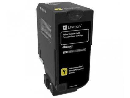 CS720, CS725, CX725 Yellow Standard Yield Corporate Toner Cartridge - 7 000 stran
