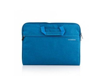 """Modecom taška HIGHFILL na notebooky do velikosti 15,6"""", 2 kapsy, tyrkysová"""